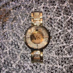 Faux Michael Kors X Swarovski Crystal Watch